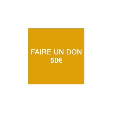 Faire un don de 50€