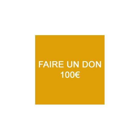 Faire un don de 100€